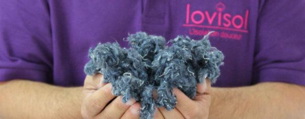Isolant naturel en laine de coton Lovisol