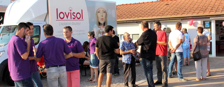 Inauguration de l'agence Lovisol Lunéville !
