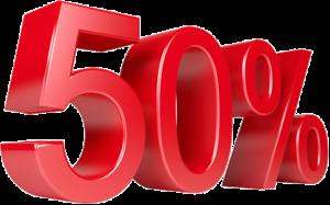 50% de remise sur l'option premium pour une isolation à 1€*